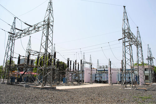 132-kV-Switchyard-of-online-test-station_Bhopal