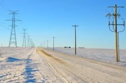 Researching Insulator Problems  From Road Salting During Winter